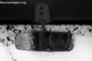 رزمنده و آینه اتومبیل منتشر شده توسط موسسه ثبت و نشر آثار رزمندگان