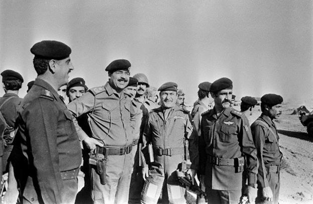 صدام ، قاتل شهدای ایرانی و تحمیل کننده هشت سال دفاع مقدس