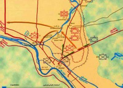 طراحی عملیات توکل در جنگ ایران و عراق