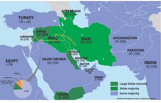 کشورهای هلال شیعی