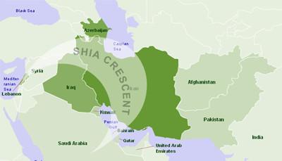 اهداف هلال شیعی